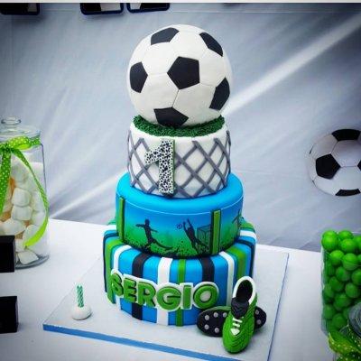 Торт футбол №13
