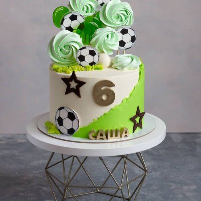 Торт футбол №12