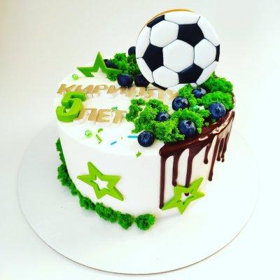 Торт футбол №1