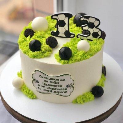 Торт футбол №19
