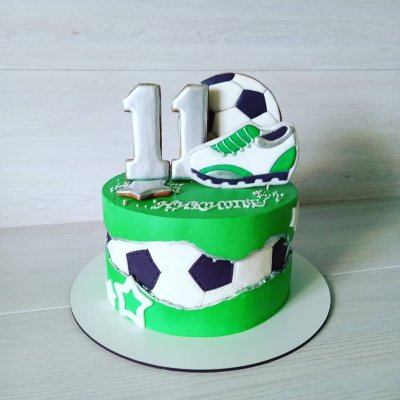Торт футбол №14
