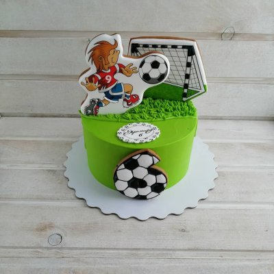 Торт футбол №18