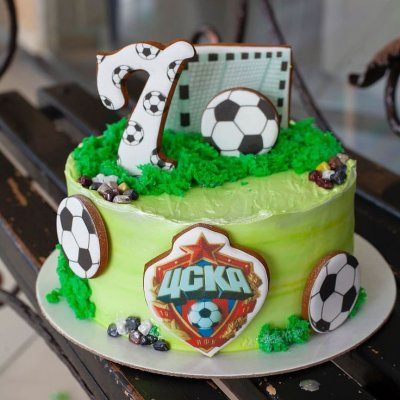 Торт футбол №5