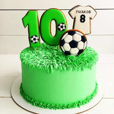 Торт футбол №10