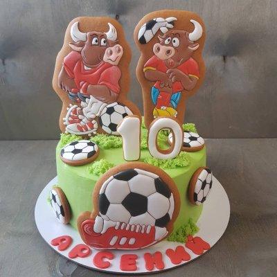 Торт футбол №20