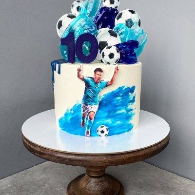 Торт футбол №2