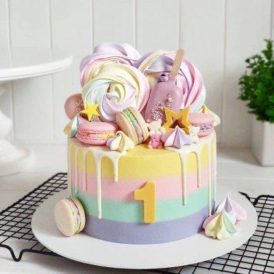 Торт со сладостями №1