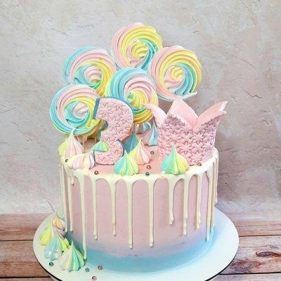 Торт со сладостями №24