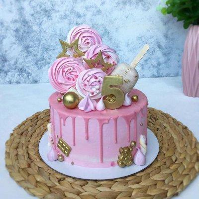 Торт со сладостями №17