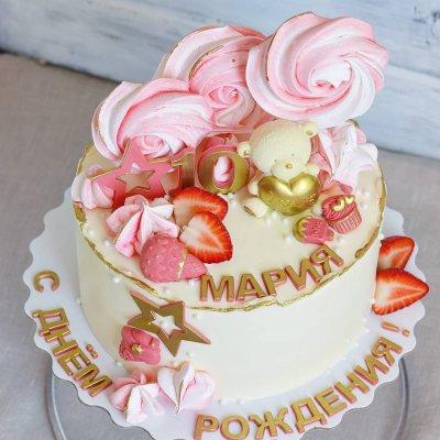 Торт со сладостями №3