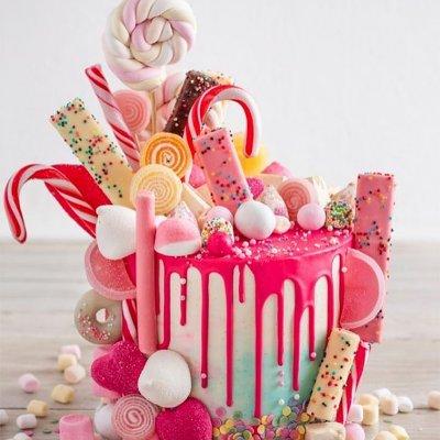 Торт со сладостями №2