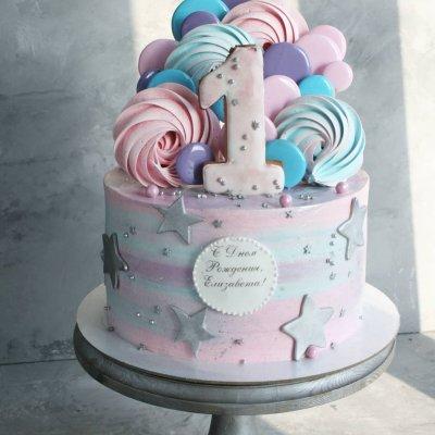 Торт со сладостями №15