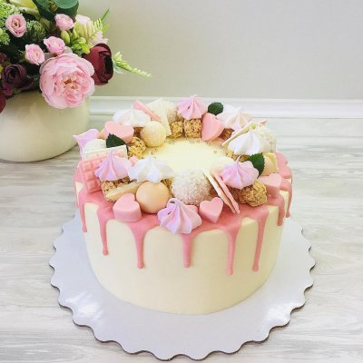 Торт со сладостями №5