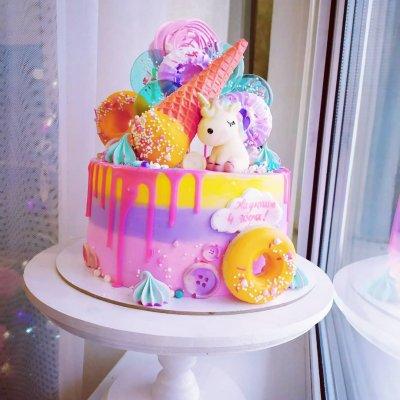 Торт со сладостями №13
