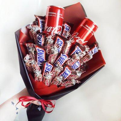 Букет из шоколадок 11