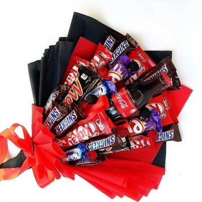Букет из шоколадок 18