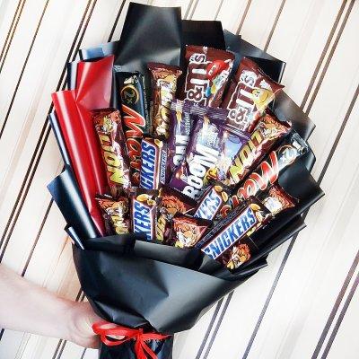 Букет из шоколадок 1
