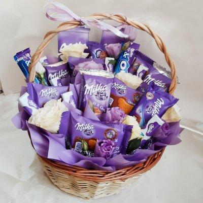 Букет из шоколадок 16