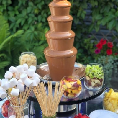 Шоколадный фонтан на юбилей