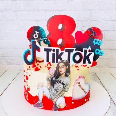 Торт Тик Ток 14