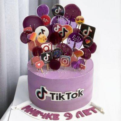 Торт Тик Ток 10