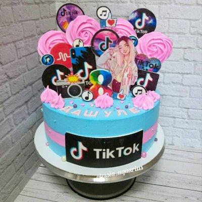 Торт Тик Ток 6