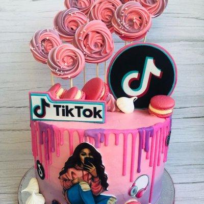 Торт Тик Ток 3