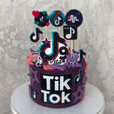 Торт Тик Ток 5