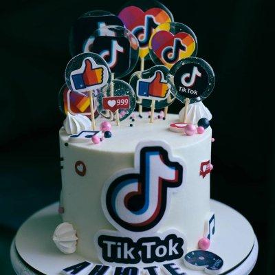Торт Тик Ток 25